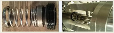 biomixer replacement mechanical seal