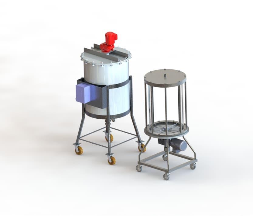 chromotography-mixer-design
