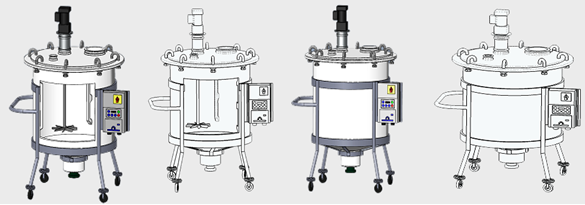 sanitary mixing tanks
