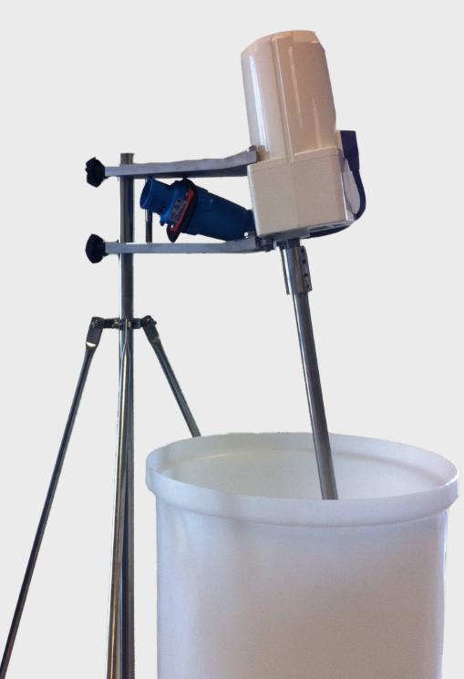 single use disposable lab mixer